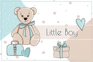 "Illustrations ""Little Boy"""