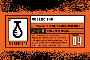Texture lab - Rolled Ink