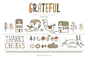 Grateful (Clipart)