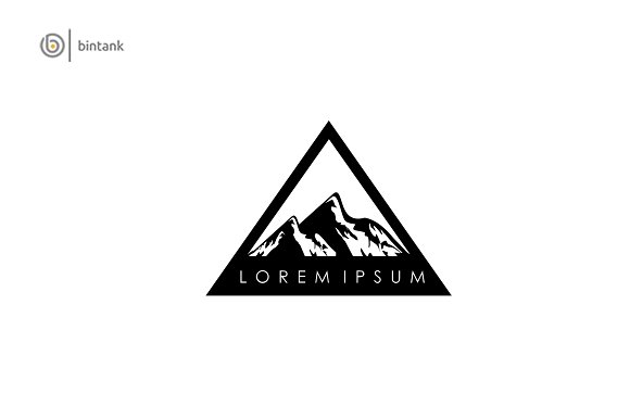 Mountain Black Logo