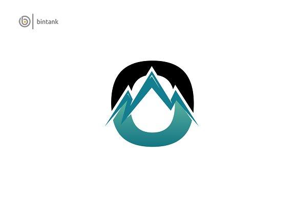 Mountain Letter O Logo