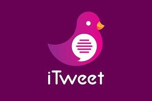 iTweet Logo Design