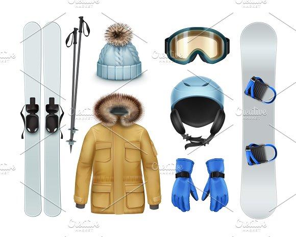 Winter Sports Stuff And Apparel