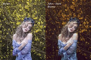 Dark Bronze Photoshop Action