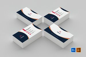 Business Card Template 64