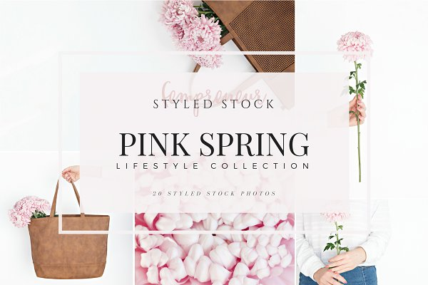 Pink Spring Styled Stock Bundle