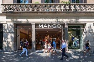 Barcelona, Spain - MANGO Store