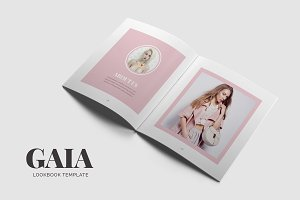 Gaia Lookbook Template