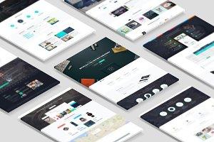 Web Themes Mockup