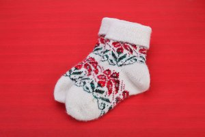 winter knitted woolen socks