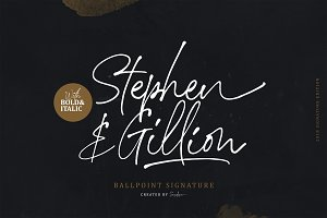 Stephen & Gillion - Signature Script