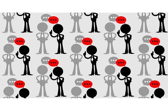 Communication Seamless Background