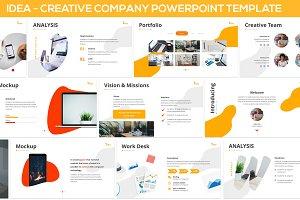 iDea - Creative Company Powerpoint