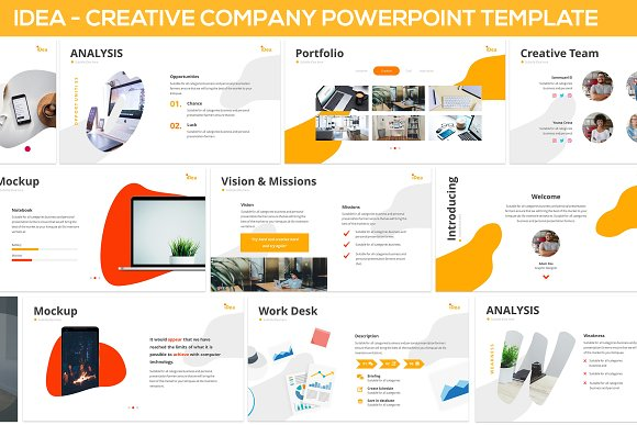 IDea Creative Company Powerpoint