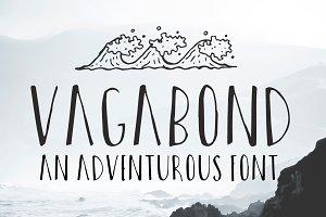 Vagabond: A Modern Hand Drawn Font