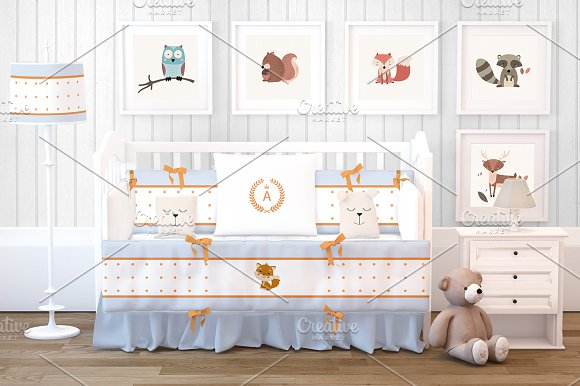 Baby Room Mockup