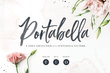 NEW! Portabella Font Collection by Callie Hegstrom in Fonts