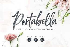 NEW! Portabella Font Collection