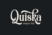 Quiska Unique Font