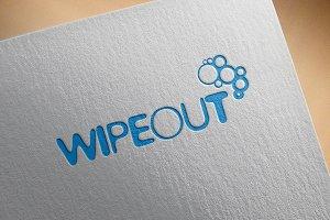 "Modern Logo - ""Wipeout"""