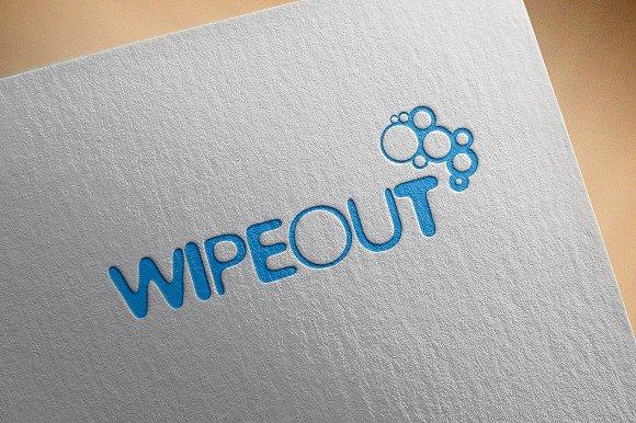 Modern Logo Wipeout
