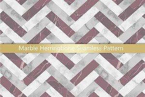 Marble Herringbone Seamless Pattern