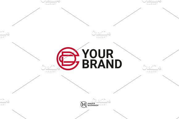 DC CD Monogram Logo