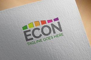 "Modern Logo - ""Econ"""