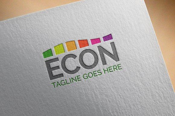 Modern Logo Econ