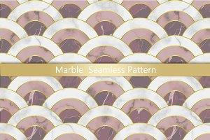 Pink Marble Seamless Pattern