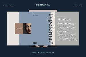 Typoforma - Type Catalogue No.1