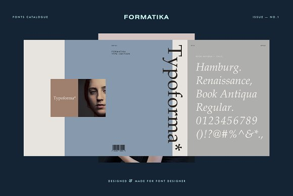 Typoforma Type Catalogue No.1