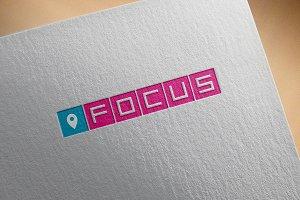 """Startup Logo - """"Focus"""""""