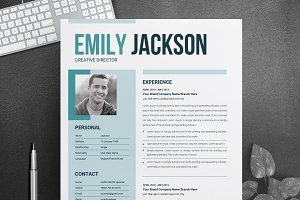 Modern Resume Template for Microsoft