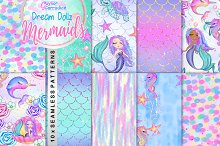 Dream Dollz Mermaids Patterns