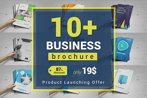 10+ Brochure Bundle : 16 pages