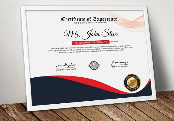 Diploma Certificate Word Template