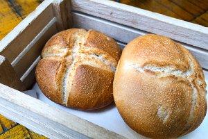 bread pieces