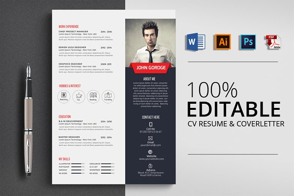 MS Office Word CV Resume