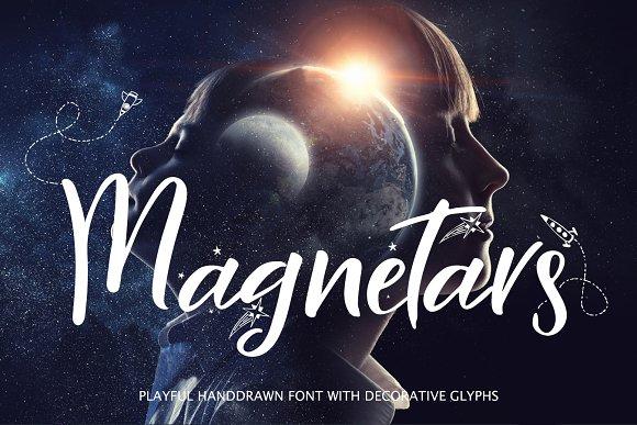 Magnetars Space Font