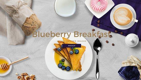 Breakfast Scene Creator Mockup