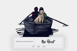 The Boat Illustration