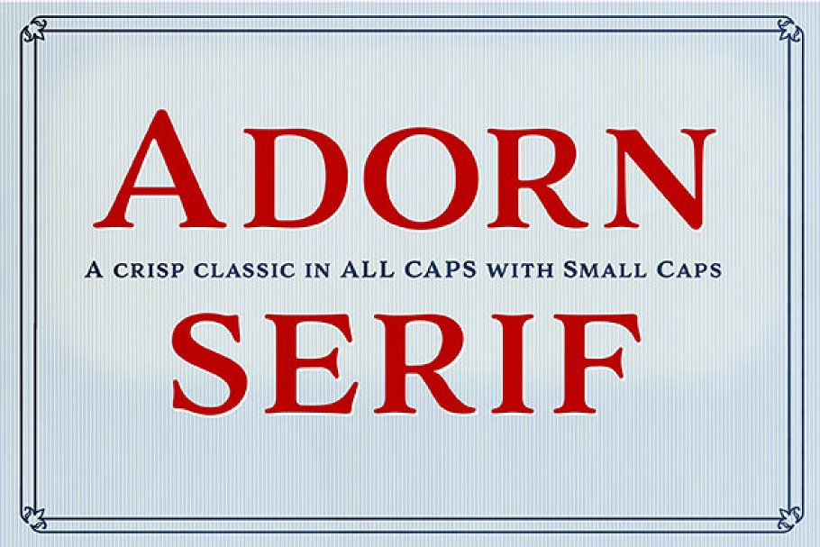 Adorn Serif Smooth ~ Serif Fonts ~ Creative Market