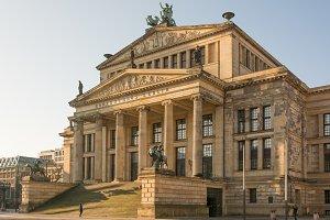 Admiring the Konzerthaus in Berlin
