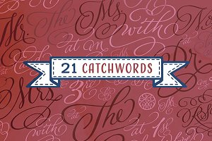 Adorn Catchwords Smooth