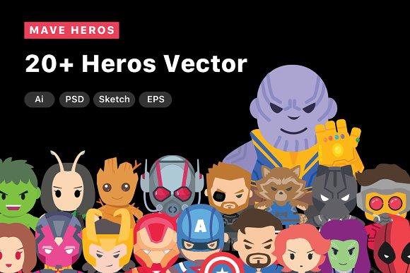 Mave Heros Vector