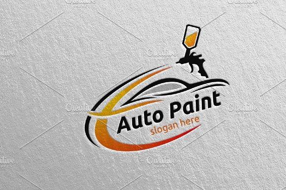 Car Painting Logo Vol 2