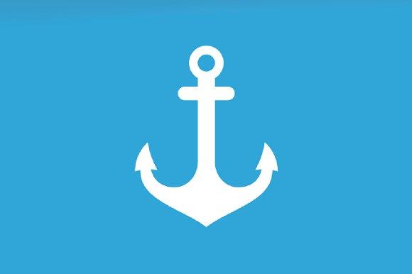 Vector Anchor Logo Combination Marine And Nautical Symbol Or Icon Unique Navy Logotype Design Template