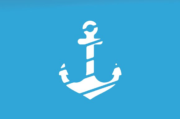 Vector Anchor Logo Combination Marine And Nautical Symbol Or Icon Unique Navy Logotype Design Template