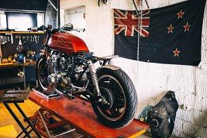 Custom bike shop